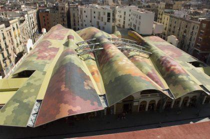 Рынки Мира: Mercat de Santa Caterina