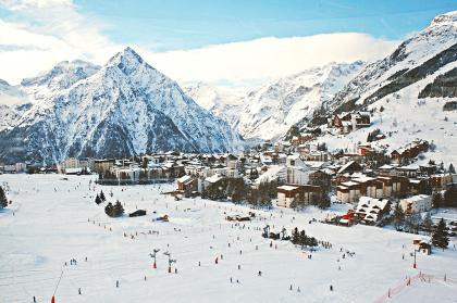 Горнолыжные курорты во Французских Альпах