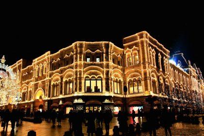 Новогодняя ночь 2012 в Москве
