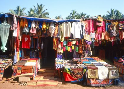 Гоа: flea market