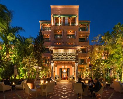 Отель недели: дворец марокканского султана La Mamounia