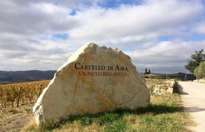 Castello di Ama — виноградник как искусство, и искусство посреди виноградника.