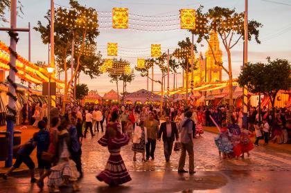 Конная ярмарка в Андалусии: фламенко, херес и лошадиный балет