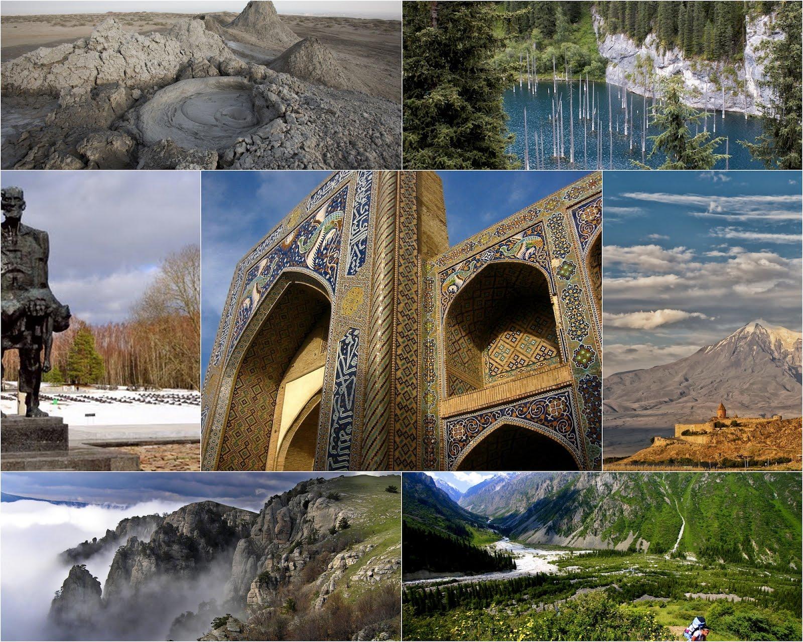 7 самых необычных мест бывшего СССР