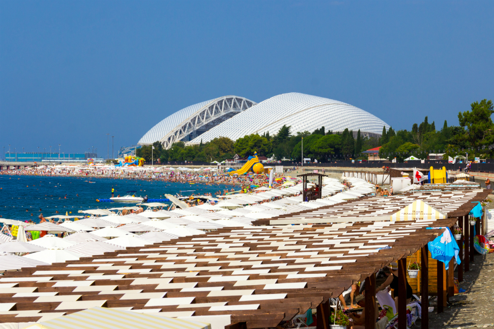 город сочи картинки пляж базу