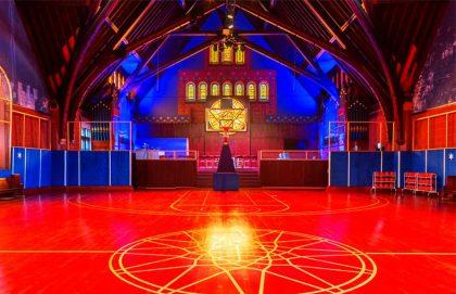 Церковь в Чикаго превратили в баскетбольную площадку