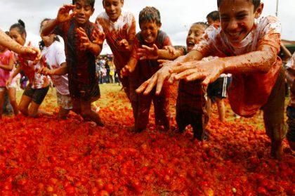 В конце августа в Испании пройдет битва помидорами