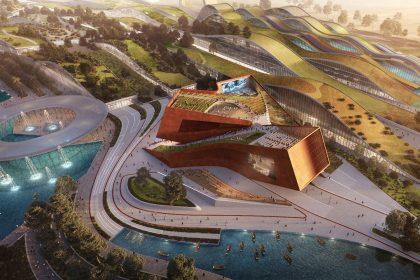 В пригороде Парижа откроют новый развлекательный комплекс