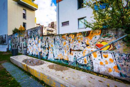 Найден новый фрагмент Берлинской стены