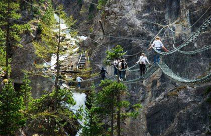 В Италии открыли самый длинный подвесной мост в Западной Европе