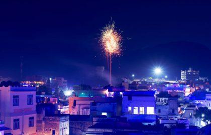 Празднование Дивали попало в Книгу рекордов Гиннеса из-за 300 тысяч ламп