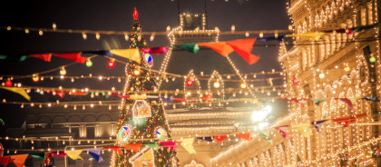 Что делать на новогодние праздники в Москве