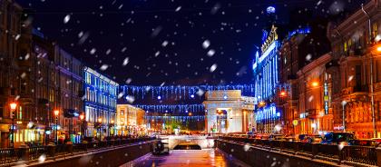 Что делать на новогодние праздники в Санкт-Петербурге