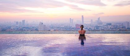 В Дубае построят самый высокий бассейн в мире