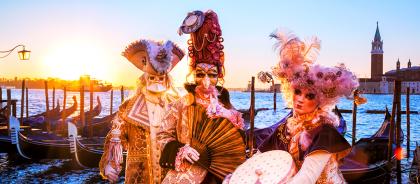 Италия готовится к карнавалам