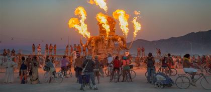 Объявили даты продажи билетов на фестиваль Burning Man
