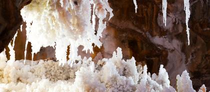 В Израиле нашли самую длинную в мире соляную пещеру