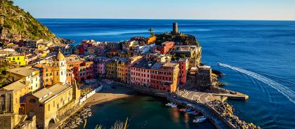В Италии запустили поезд по живописному маршруту