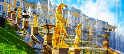 В Санкт-Петербурге открыли сезон фонтанов
