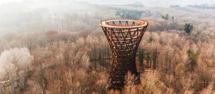В Дании построили вертикальную тропу-небоскрёб
