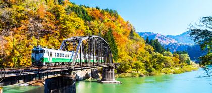 В Японии открылась ж/д станция без входа и выхода