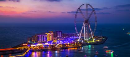В Дубае откроют самое высокое в мире колесо обозрения