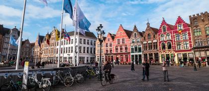 В Брюгге ограничат число туристов