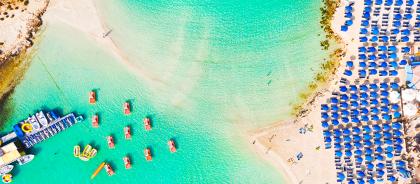 Самая чистая вода для купания в Европе оказалась на Кипре