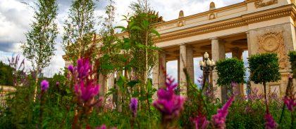 В Москве стартовал фестиваль ландшафтного дизайна «Цветочный джем»