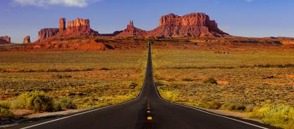 Cоставлен рейтинг дорожных путешествий по США