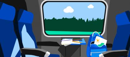 Как развлечь ребёнка в поездке