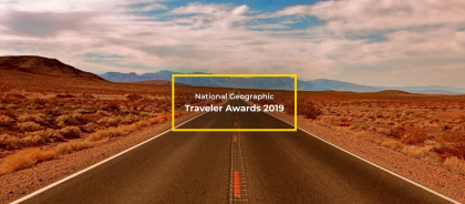 Ostrovok.ru номирован на премию National Geographic Traveler Awards 2019!