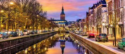 Амстердам начал активно рекламировать Гаагу