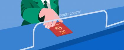Заметка: фразы на английском, которые помогут пройти паспортный контроль