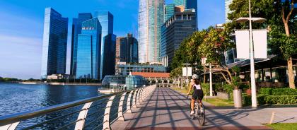 В Сингапуре ввели запрет на передвижение на электросамокатах по тротуарам