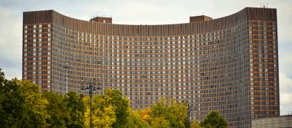 Гостиницу «Космос» реконструируют к 2023 году