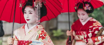 В Киото запретили фотографировать гейш