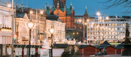 На Новый год из Москвы в Хельсинки пустят дополнительный поезд