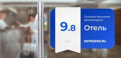 Рейтинг отелей на Ostrovok.ru