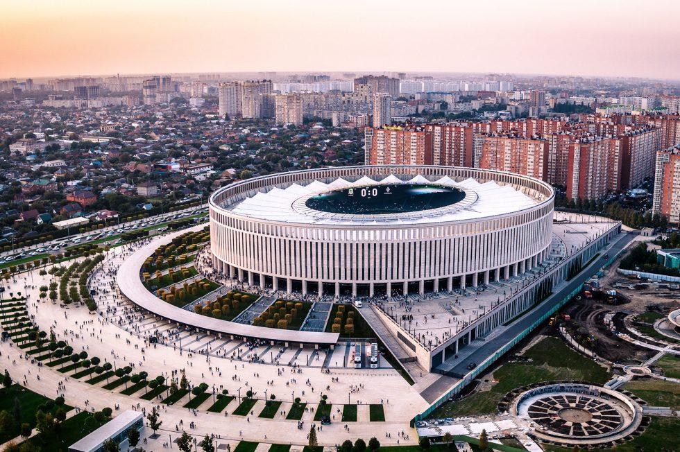 Новый стадион в краснодаре картинки