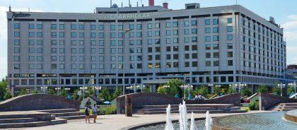 В гостинице Radisson «Славянская» разместят медиков