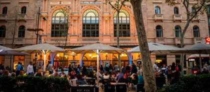 В Барселоне прошёл концерт для комнатных растений