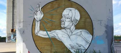 Стрит-арт в Нижнем Новгороде: история, обереги и партизано-сопротивленческий колорит