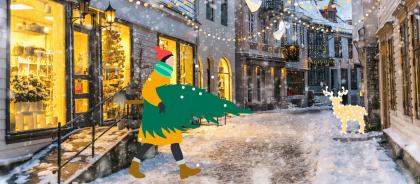 Рождество и Новый год онлайн: как создать праздничное настроение