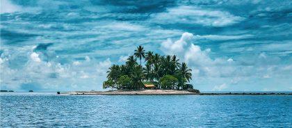 Мусор в Индийском океане станет островом-курортом