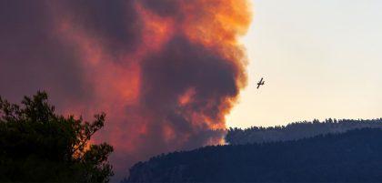 Ситуация с пожарами в Греции