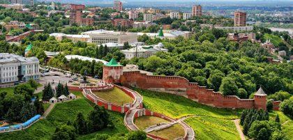 Нижний Новгород отметил юбилей и готовится к Новому году